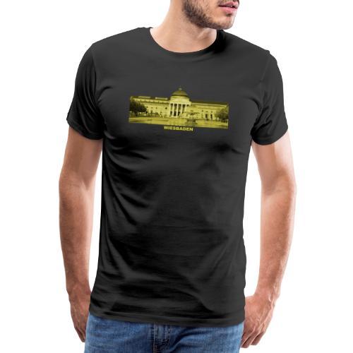 Wiesbaden Landeshauptstadt Hessen Kurhaus Casino - Männer Premium T-Shirt