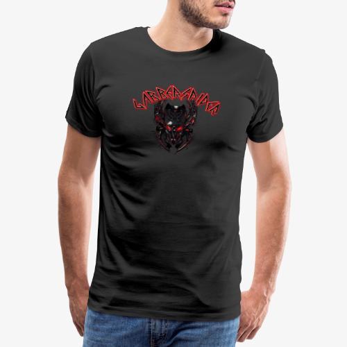 Gabberspider skull - Men's Premium T-Shirt