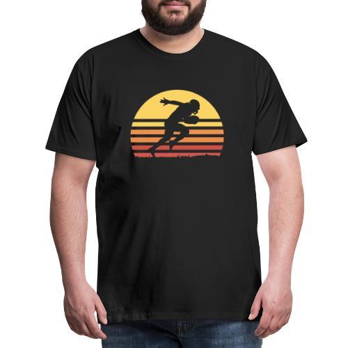 Football Sunset - Männer Premium T-Shirt
