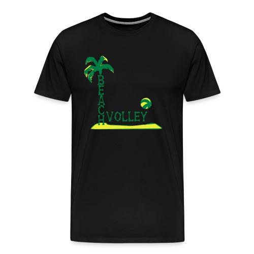Premium Hoodie Beach Volley Ball - Männer Premium T-Shirt