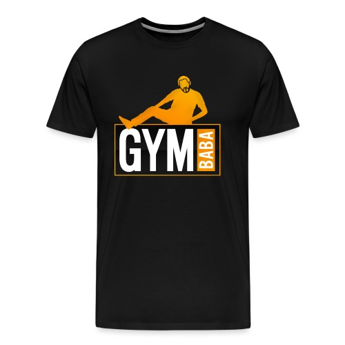 gym-baba-2-org-txtBlc dgr - T-shirt Premium Homme