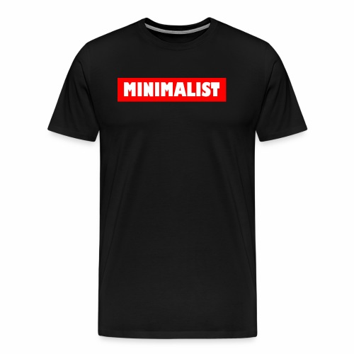 Minimalist - Männer Premium T-Shirt