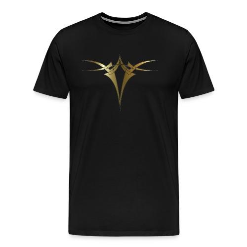 gold - Miesten premium t-paita