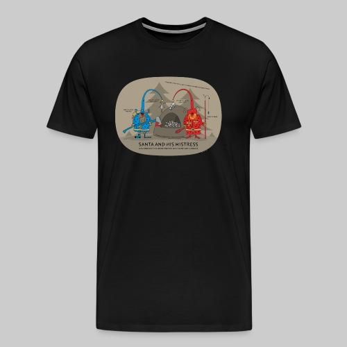 VJocys Santa Blue - Men's Premium T-Shirt