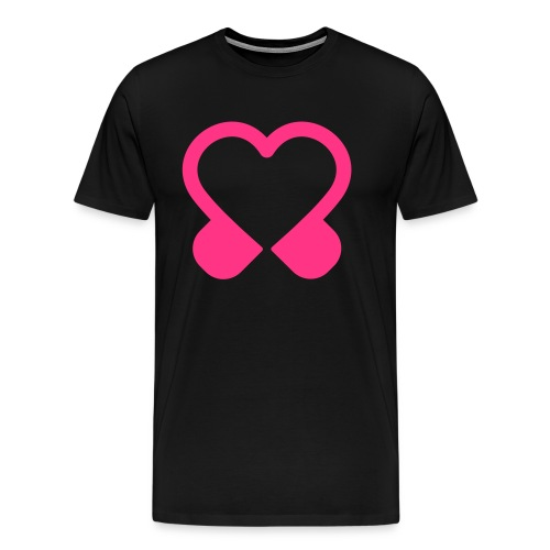 tramharmoniehartje - Mannen Premium T-shirt