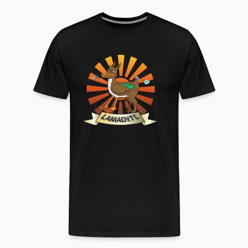 Lamaente - Männer Premium T-Shirt