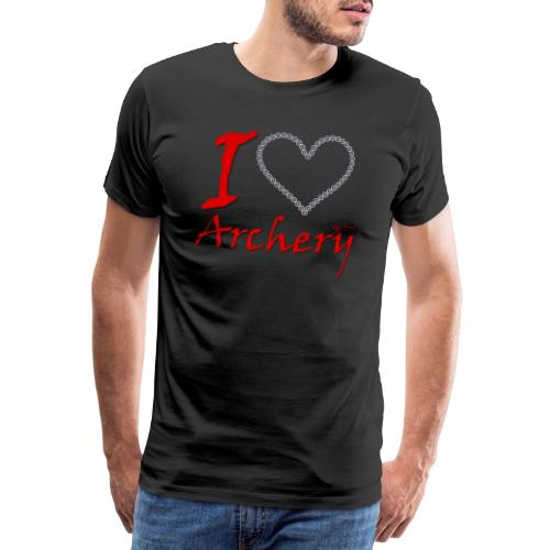 Archery Love - Männer Premium T-Shirt