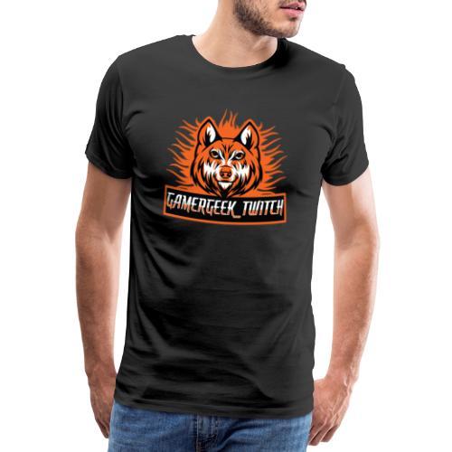 GamerGeek Logo XXXL - Männer Premium T-Shirt
