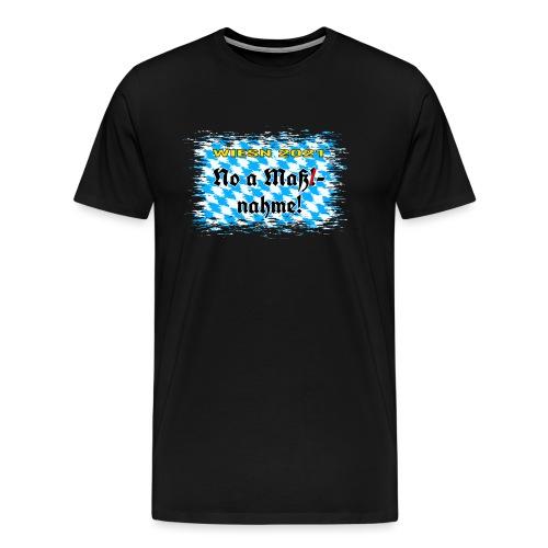 Oktoberfest 2021 - No a Maß! - Männer Premium T-Shirt