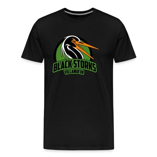Camiseta Basica BlackStorks - Camiseta premium hombre