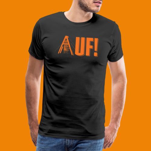 Auf / Shop - Mannen Premium T-shirt