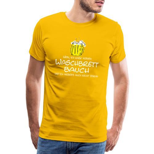 Waschbrettbauch - Männer Premium T-Shirt
