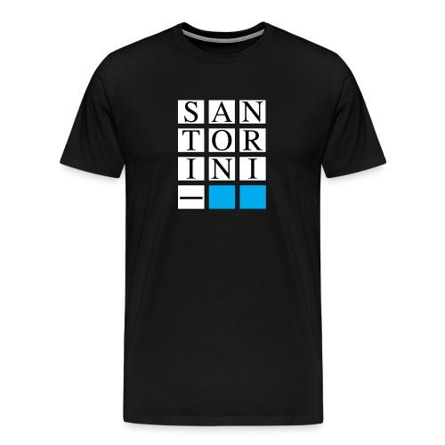 SANTORINI - Maglietta Premium da uomo