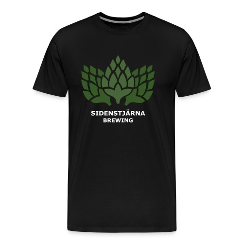 Ljus Logotyp - Premium-T-shirt herr