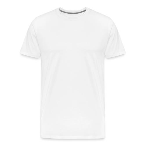 mubo logo Word White - Men's Premium T-Shirt