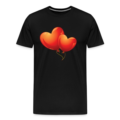 Malliot coeur - T-shirt Premium Homme