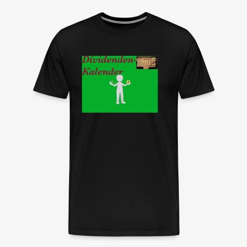 Dividendenkalender - Männer Premium T-Shirt