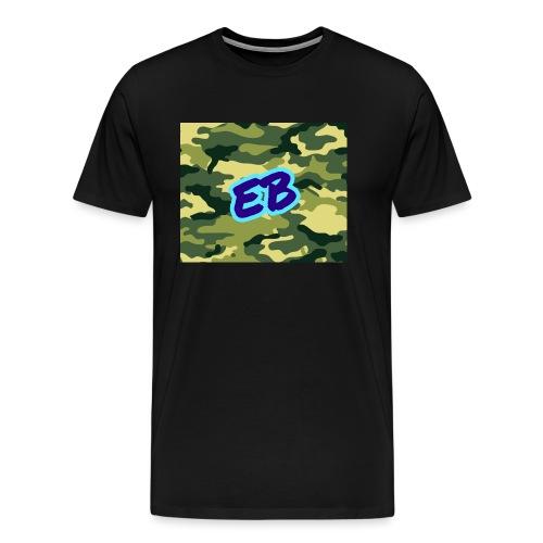 Ellibradyoffical green camo - Men's Premium T-Shirt