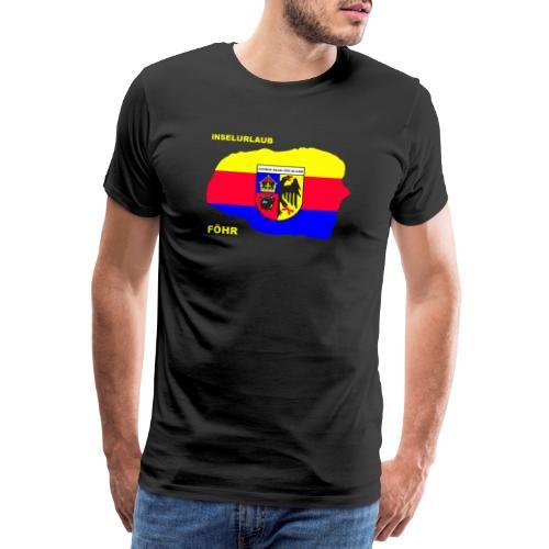 Foehr Insel Nordsee Urlaub - Männer Premium T-Shirt