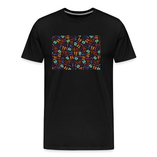 Bollenstreek_background-0 - Mannen Premium T-shirt