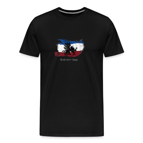 rostocker_jung_weiss - Männer Premium T-Shirt