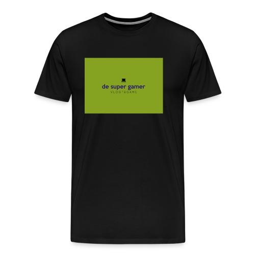 De super gamer - Mannen Premium T-shirt