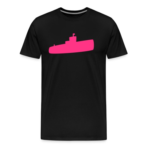 Rosa U-Boot - Männer Premium T-Shirt