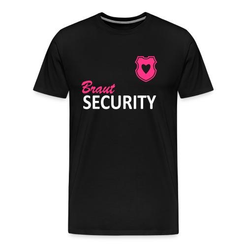 Braut Security - Männer Premium T-Shirt