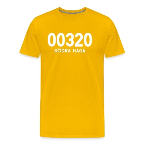 00320 SODRAHAGA - Miesten premium t-paita