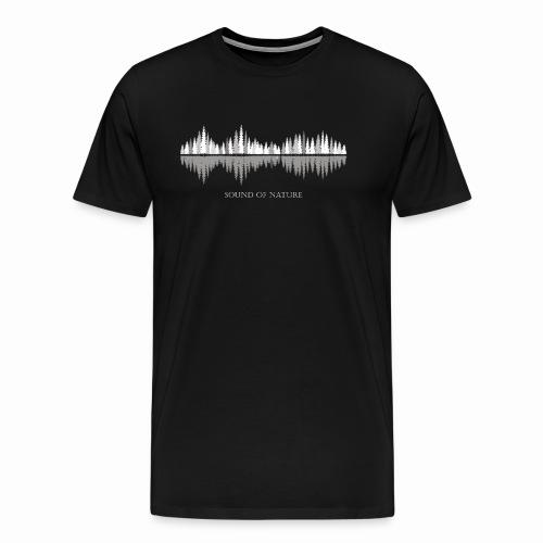 Sound of Nature - Winter - Männer Premium T-Shirt