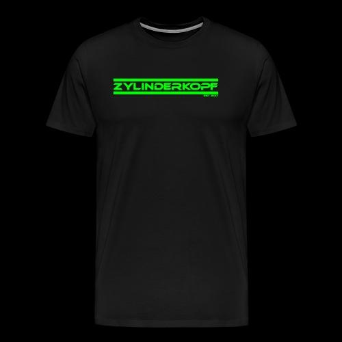 Zylinderkopf classic green Edition - Männer Premium T-Shirt