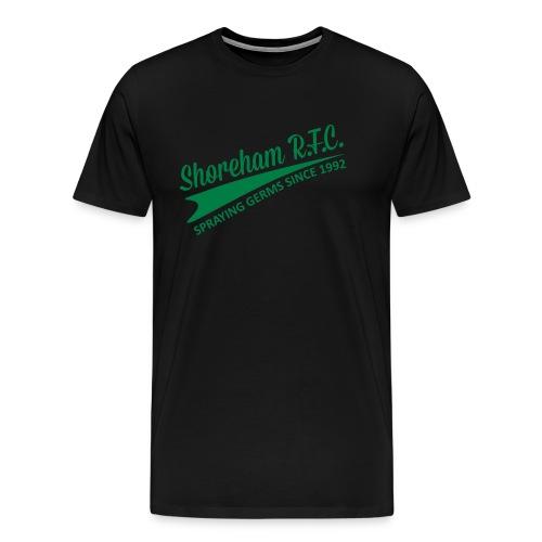 Spraying Germs - Men's Premium T-Shirt
