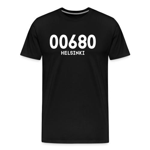 00680 HELSINKI - Miesten premium t-paita