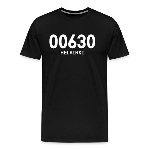 00630 HELSINKI - Miesten premium t-paita