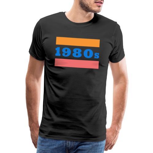 1980s - Koszulka męska Premium