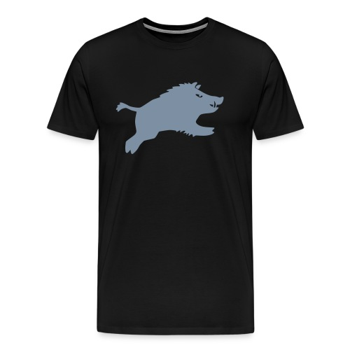 Schwein springt 2015 - Männer Premium T-Shirt