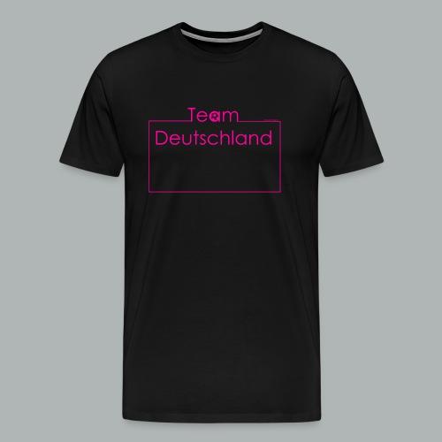 Team Deutschland pink - Männer Premium T-Shirt
