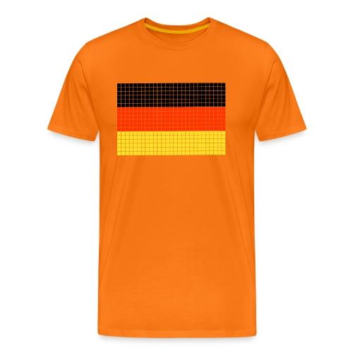 german flag.png - Maglietta Premium da uomo