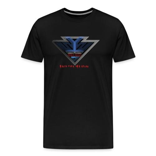 Wild Erah Logo BLACK NAVYBLUE png - Men's Premium T-Shirt