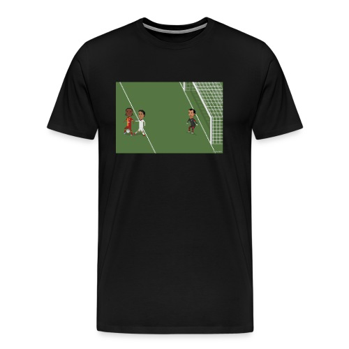 Backheel goal BG - Men's Premium T-Shirt