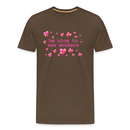 benicetosexworkers - Men's Premium T-Shirt