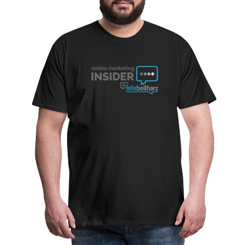 Online Marketing Insider - Männer Premium T-Shirt