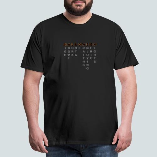 HALLOWEEN'S ANAGRAM - Maglietta Premium da uomo