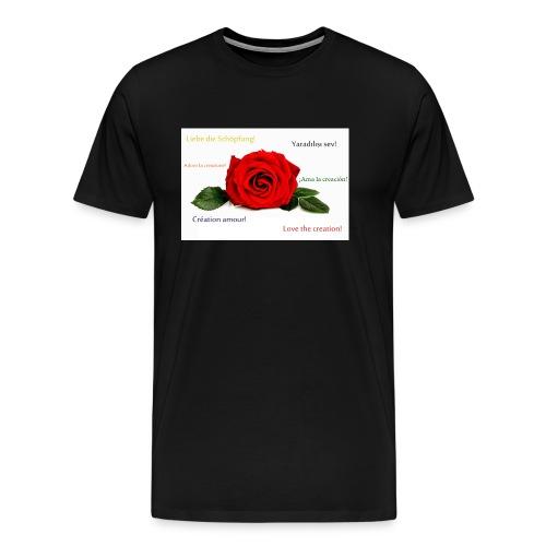 Love the Creation - Männer Premium T-Shirt