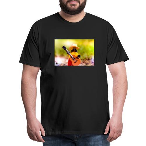 Słońce, natura i muzyka i czego chcieć więc? - Koszulka męska Premium