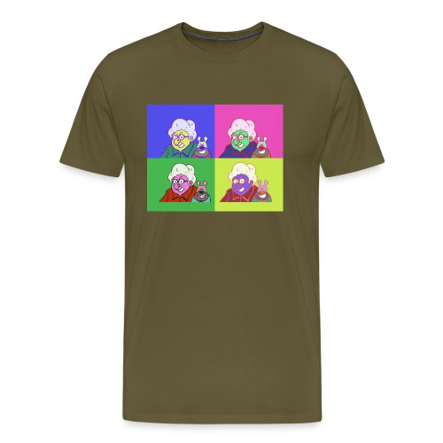 Polete facon warhol - T-shirt Premium Homme