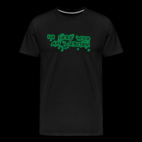 Ich liebe mich am liebsten - Männer Premium T-Shirt