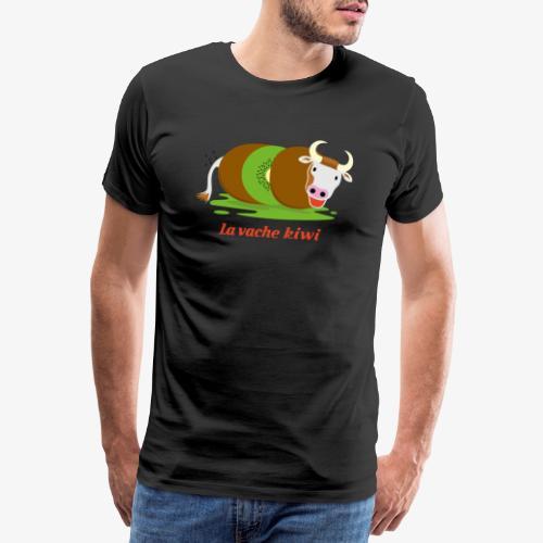 vache kiwi rouge - T-shirt Premium Homme