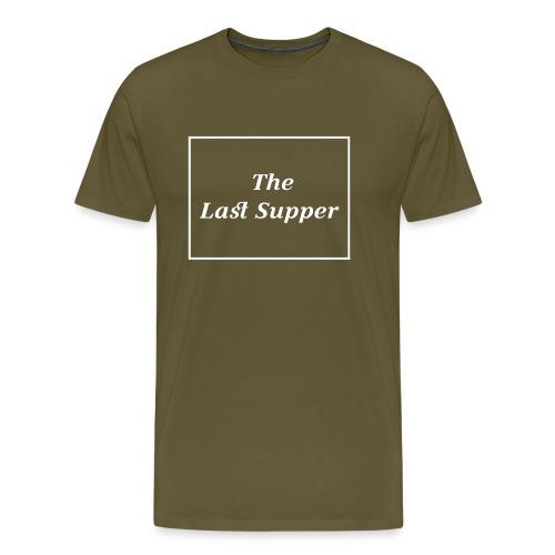 The Last Supper Leonardo Da Vinci Renaissance - Männer Premium T-Shirt