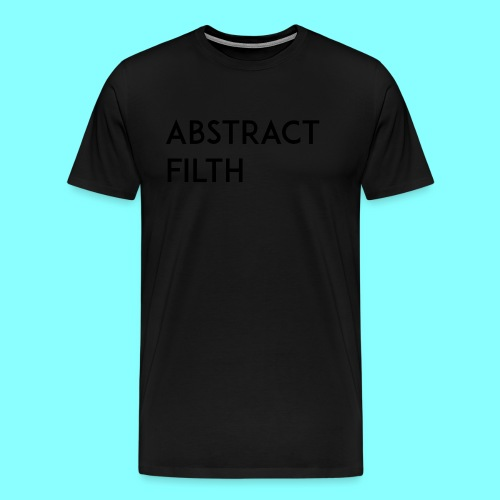 Abstract filth - Premium T-skjorte for menn